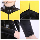 Dark Phoenix Costume - Newest X-Men Faux Leather Skin Tight Jumbsuit For Adult Kids Hallween Costume