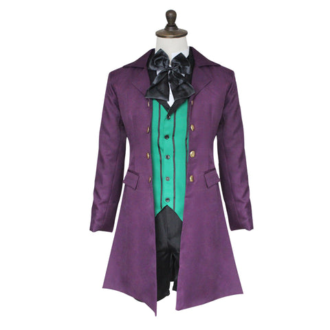 Alois Trancy Cosplay - New Black Butler Season 2 Alois Trancy Party Dress Full Set With Wig