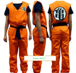 Dragon Ball Z Costume - Goku Fancy Party Costume Set  Clothing Wig