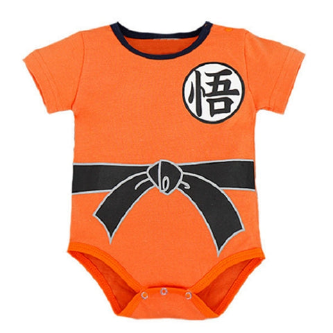 Goku Kids Costume - Toddler Jumpsuit For baby Boys Girls Clothing Son Goku Baby Boys Cloths