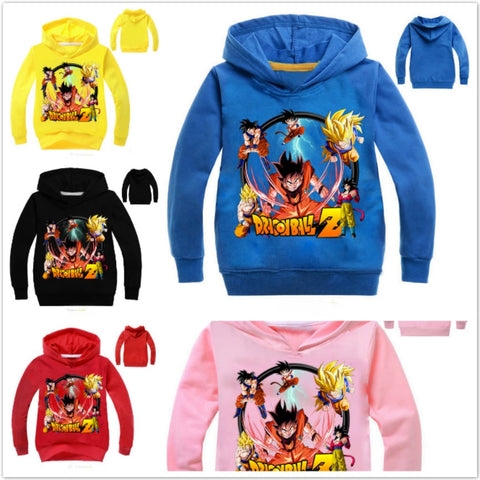 Goku Kids Costume - Goku Vegeta Children Long Sleeve T-Shirt For Baby Boys Girls  Outwear Top Costume