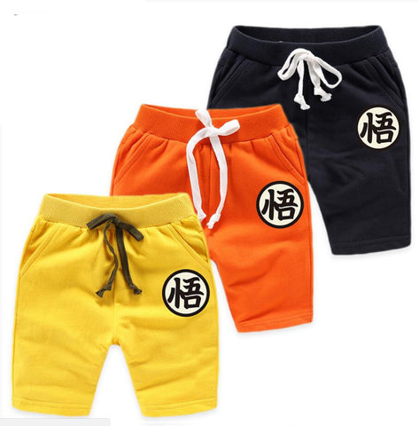 Goku Kids Costume - Dragon Ball Z Son Goku Cotton Costume For Boys Girls Trousers