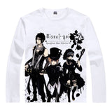 Sebastian Michaelis Cosplay - Coolprint Japnees Multi-Style Long Sleev T-Shirt