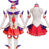Ahri Cosplay - Magic Girl Nine - Tailed Fox Dress Full Set Wigs Anime Wholesale