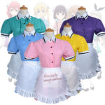 Hinata Cosplay - Blend S Maika Sakuranomiya Kaho Hinata Mafuyu Kanzaki Maid Dress Women Girl Uniform Costume