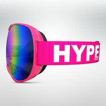 Load image into Gallery viewer, HypeSnow Pink Skidglasögon Midsize