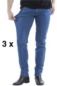 3 x The Perfect Jeans - Denim Blue