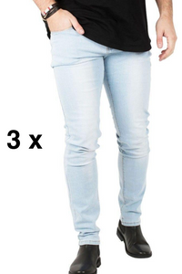 3 x The Perfect Jeans - Light Blue