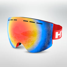 Load image into Gallery viewer, HypeSnow Rainbow Red Skidglasögon