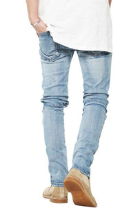 The Perfect Distressed Jeans - Blue
