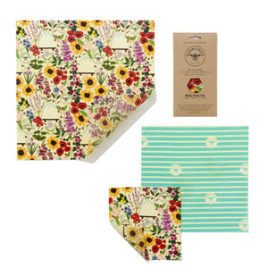 The Beeswax Wrap Co. Medium Kitchen Pack