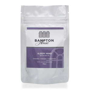 Bampton House Bath Salts - Sleepy Mind (50g)