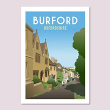 Load image into Gallery viewer, Cotswold Poster Co - 5 x 7 inch prints (available in 5 variants)