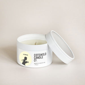 Cotswold Candle Co. Jasmine Travel Tin Candle 85g
