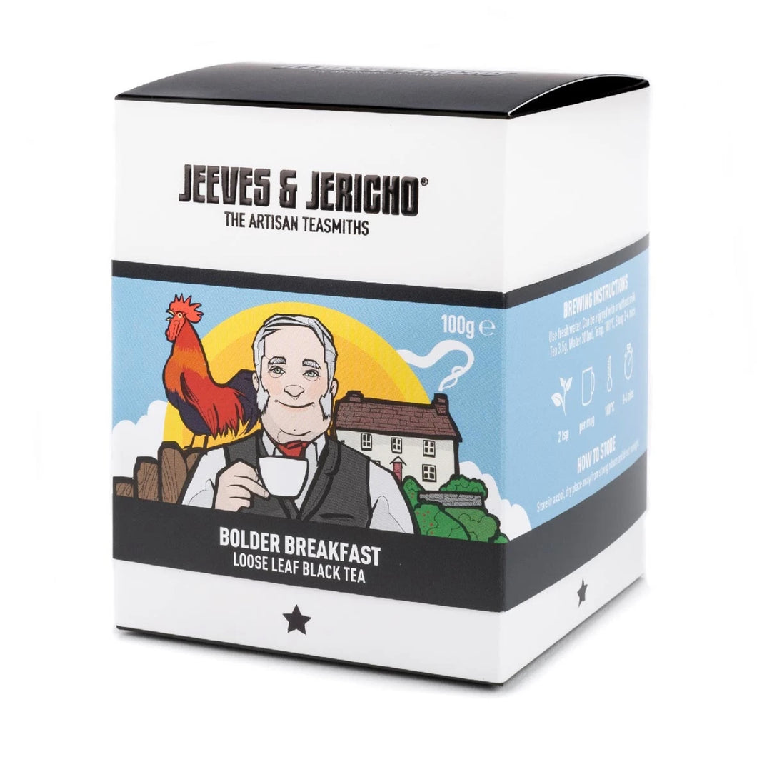Jeeves & Jericho Bolder Breakfast Loose Leaf Black Tea 100g