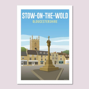 Cotswold Poster Co - 5 x 7 inch prints (available in 5 variants)