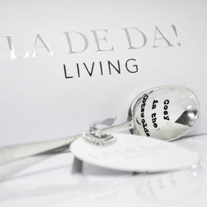 La De Da! Living - Cosy in the Cotswolds Hand Stamped Teaspoon