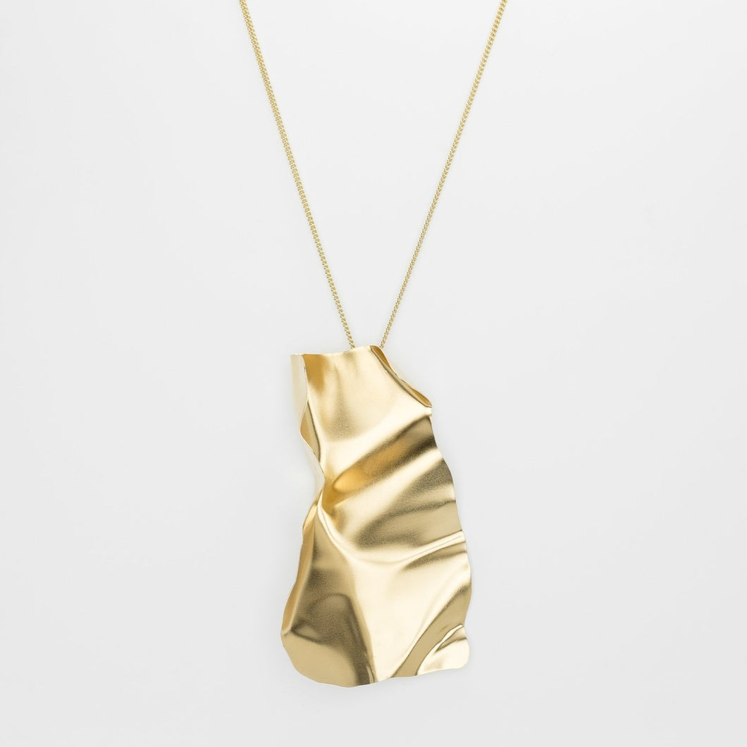 YOU WERE CLEAR AND CALM NECKLACE GOLD - Amabis