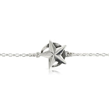 Load image into Gallery viewer, SILVER STAR AND MOON BRACELET - Amabis