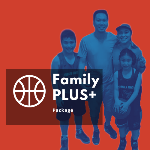 Family Package: 2 parents 1 Player