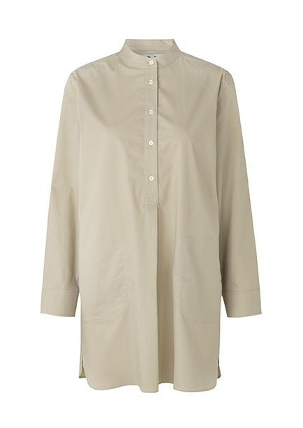 ELVIRA TUNIC SHIRT TAUPE