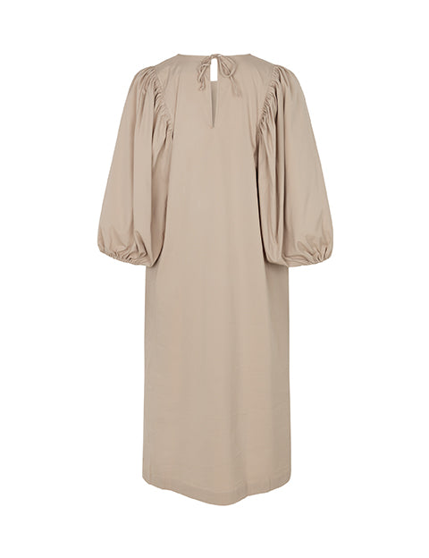EMELY DRESS TAUPE