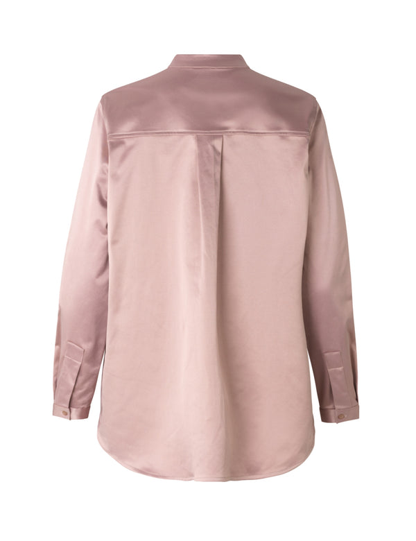 ALISE SHIRT JACKET - ROSE DUST