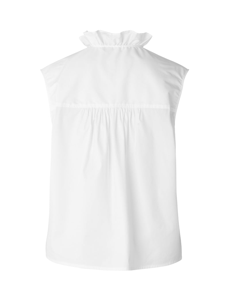 ANNI SHIRT TOP - WHITE