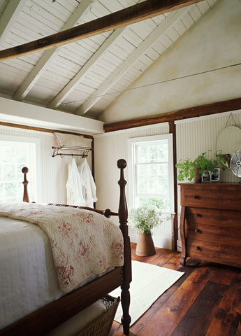 english country master bedroom from star bright farm