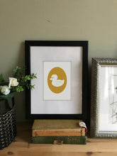 Load image into Gallery viewer, Rubber Ducky Cameo Art Print