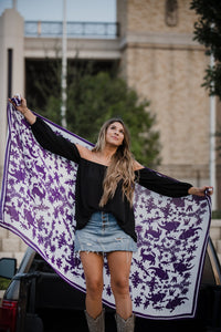 TCU Horned Frogs Scarf - WHOLESALE