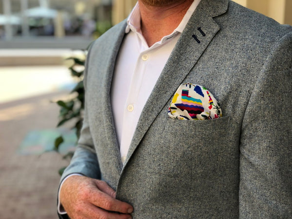 Texas Forever Pocket Square - WHOLESALE