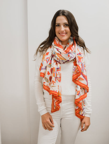 Sugar Skull Scarf - WHOLESALE