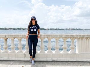 Women's Tampa Babe Crop Top