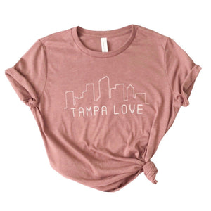 Women's Skyline Tampa Love