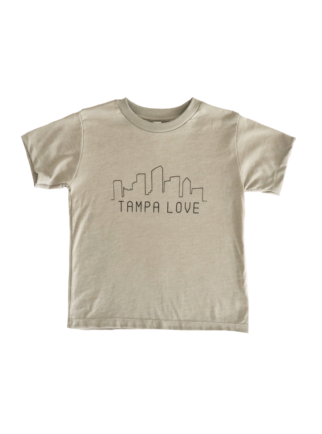 Kid's Skyline Tampa Love Tee