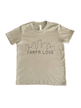 Load image into Gallery viewer, Kid's Skyline Tampa Love Tee