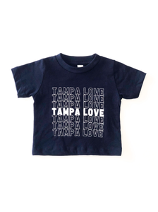 Kid's Stacked Tampa Love Tee