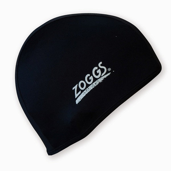 Zoggs Deluxe Stretch Fabric Swim Cap - FREE Delivery