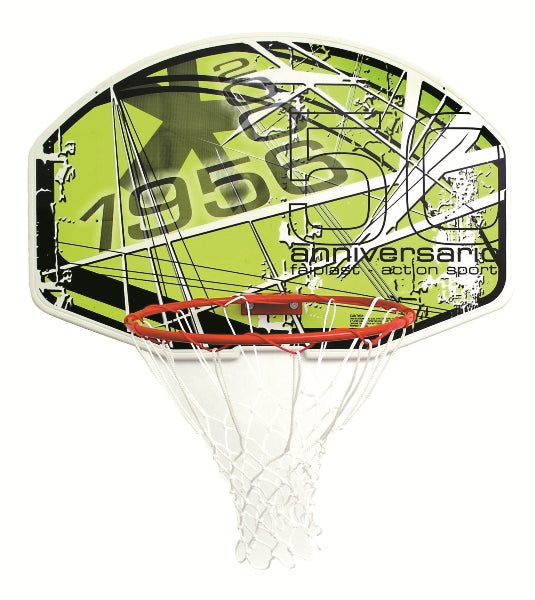 Sure Shot Action Sport 50th Anniversary Backboard and Ring Set