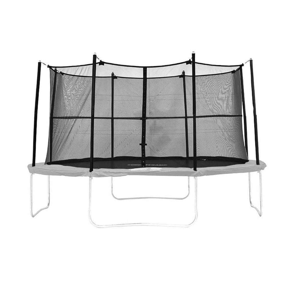 Super Tramp Spring Time 14ft Trampoline with Enclosure and Ladder - FREE Delivery