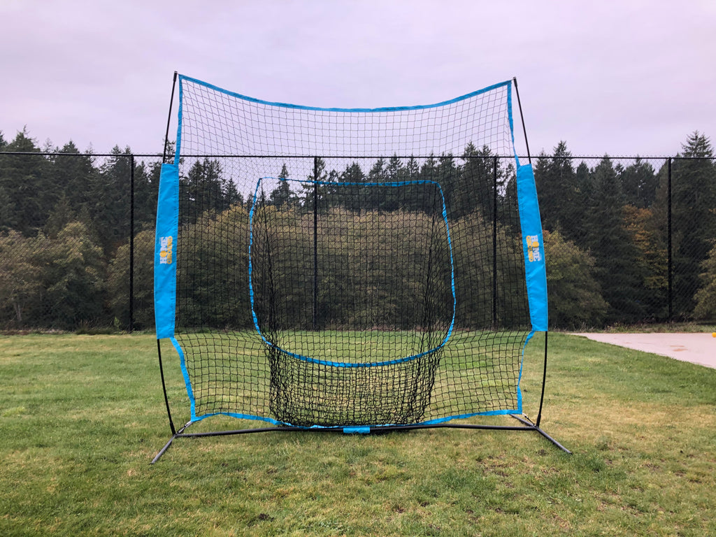 Home Ground Back Stop Cricket Net with pocket