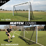 Quick Play Match Combo goal and rebounder