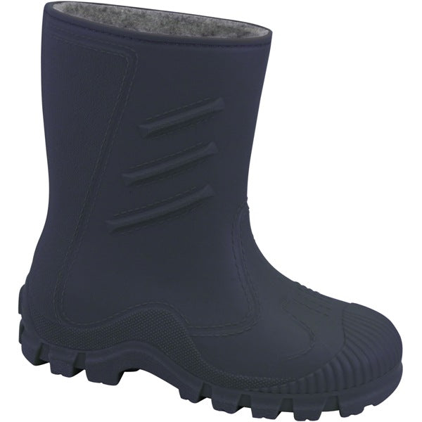 Splash Fleece Lined Wellies - Navy