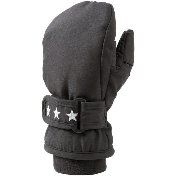 Manbi Snowpaw Winter Mittens Black