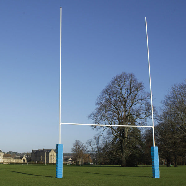 Junior Steel Socketed Rugby Posts - Free Delivery