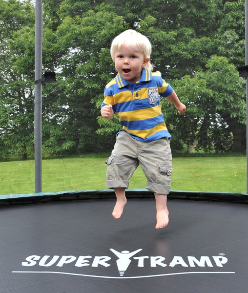 Super Tramp XR300 Trampoline with Enclosure - FREE Delivery