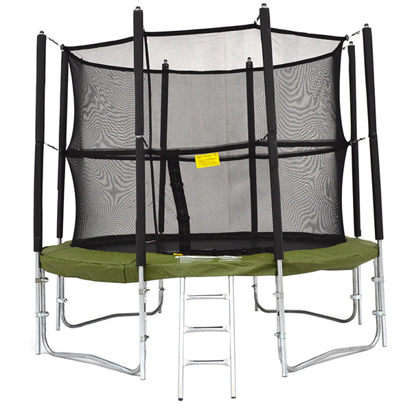 Super Tramp Cosmic Bouncer (10ft) trampoline - FREE Delivery