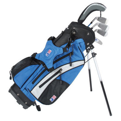 US Kids Golf 4 Club Stand Bag Set - Free Delivery