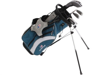 US Kids Golf 5 Club Stand Bag Set - Free Delivery